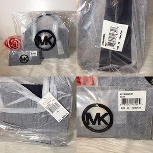 Michael Kors Hamilton Leather Satchel & Wallet NWT